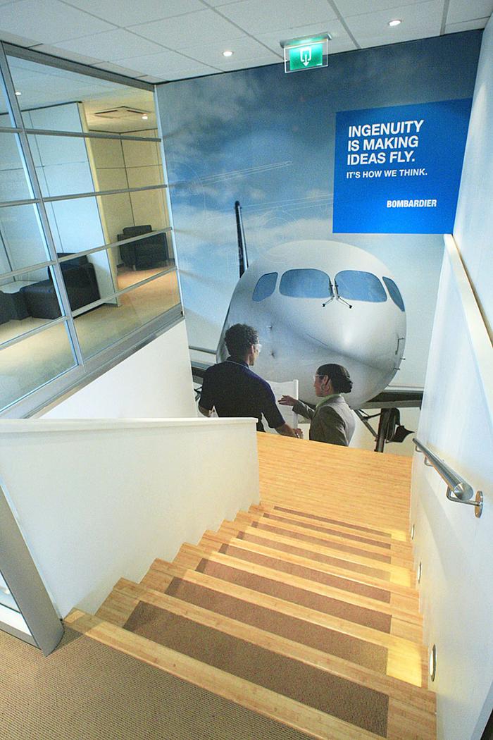 Bombardier Aerospace Chalet